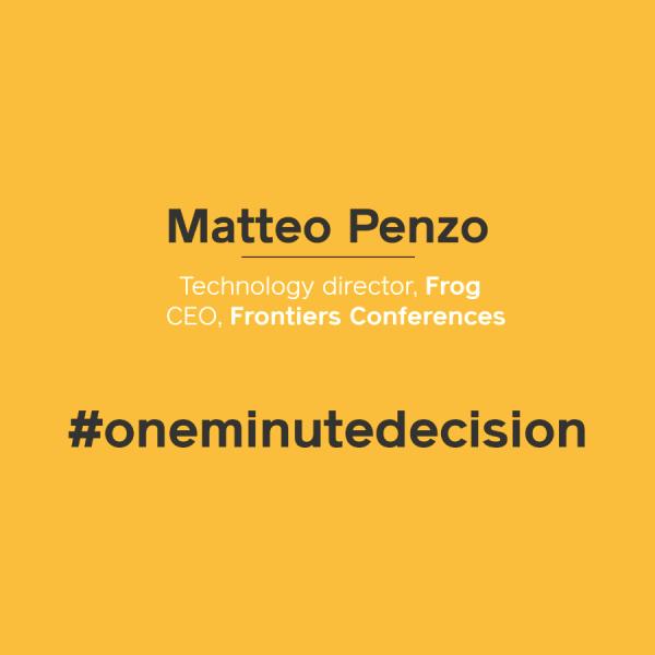 oneminutedecision_matteopenzo