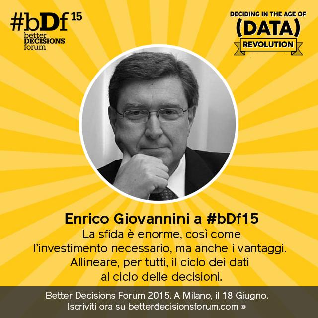 """A World That Counts"": Enrico Giovannini a #bDf15"