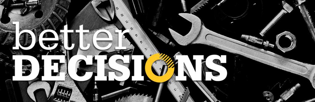 Better Decisions: un nuovo sito, nuovi progetti.
