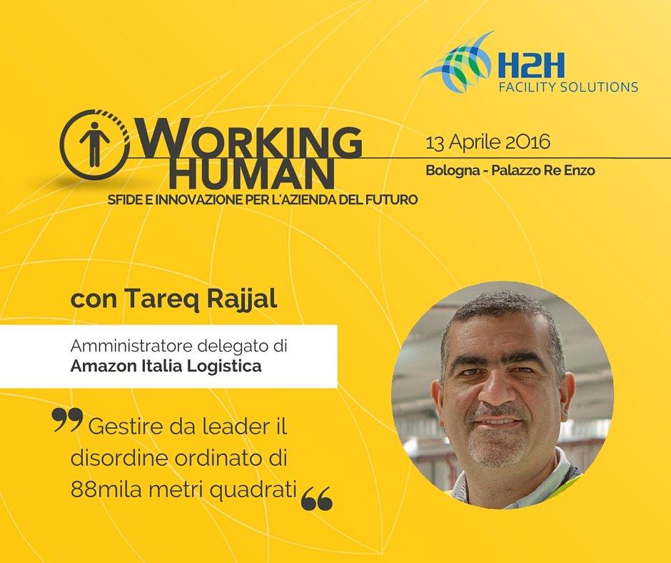 Amazon a #bDfH2H #WorkingHuman