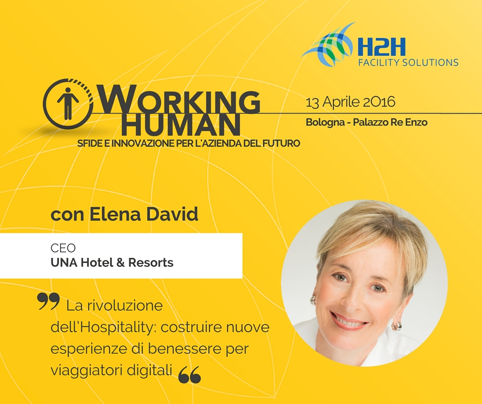 UNA Hotels & Resorts a #bDfH2H #WorkingHuman