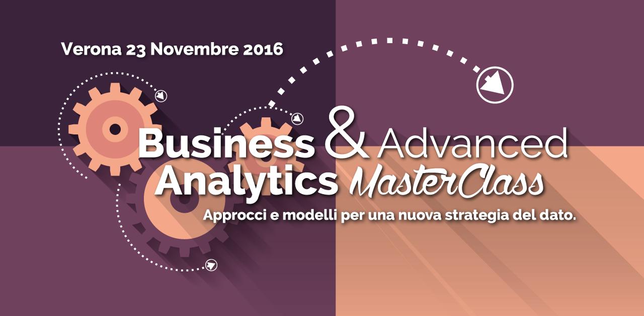 Business & Advanced Analytics MasterClass